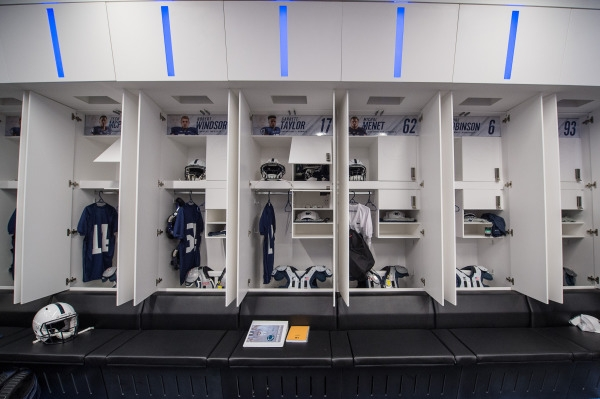 The importance of locker rooms in team chemistry Shield Casework