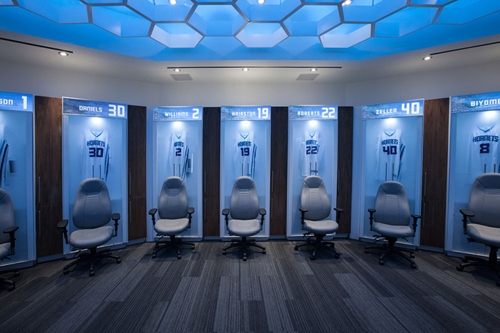Like the Charlotte Hornets did, many sports teams can make small but important changes like improving their lockers to stand out in the new year.