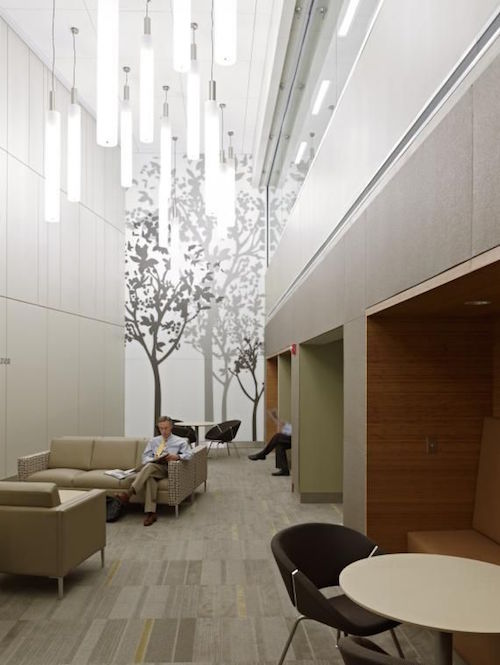 Another Way To Create Healthcare Design With Nature Is To Include Walls  Decals That Allude To