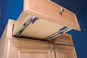 Shield Casework Undermount Drawer Glides Versus Side Mounts