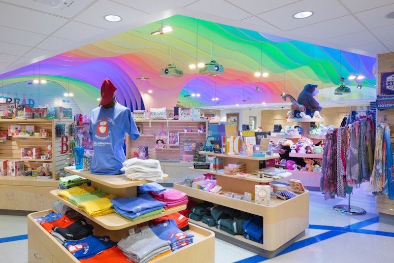 Children's Mercy Gift Shop wins AIA KC award