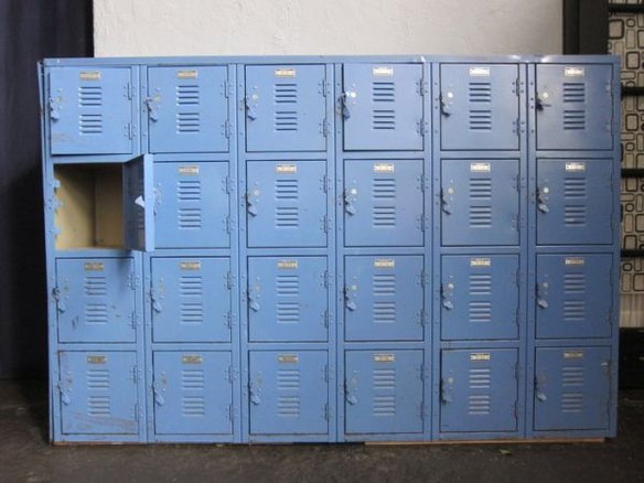 While Cost Efficient And Fairly Durable Metal Lockers Are Also Easily Bent Require