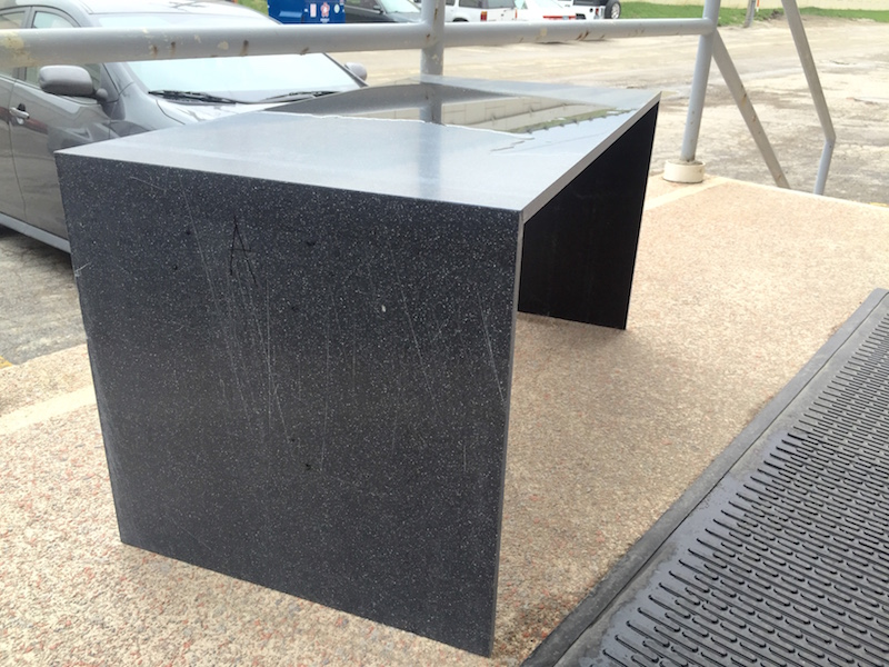 Benchie contributed to the understanding of the benefits of solid surface outdoor  furniture - Shield Casework The Benefits Of Solid Surface Outdoor Furniture